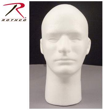 foam head,merchandising,in store display,rothco marketing,in-store promo