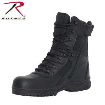 tactical boots,composite toe boot,swat boot,safety toe,composite safety toe,tactical boot, military boot, military combat boot, combat boot, rothco boot, rothco boots, combat boots, military combat boots, black combat boots, police boots, rothco tactical boots, law enforcement boot, military boot, forced entry boot, 8 inch boot, eight inch boot