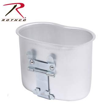 Rothco Aluminum Canteen Cup, Canteen Cup, Military Canteen Cup, Army Canteen Cup, canteen container, canteen, aluminum canteen cup, aluminum canteen, aluminum canteen container
