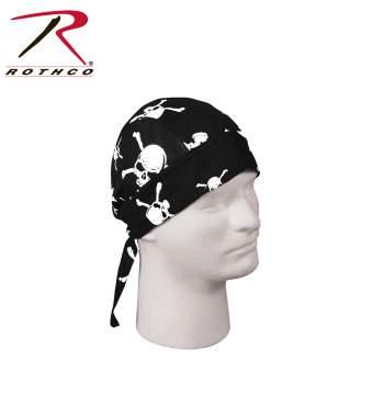 Rothco headwrap,headwrap,bandana,skull crossbones headwrap,skull crossbones bandana,head wrap,skull crossbones head wrap, do-rag