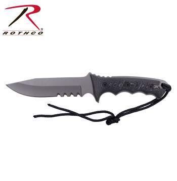 drop point knife, fixed blade, knife, fixed blade knife, tactical fixed blade knife, fixed blade tactical knives, tactical knife, military knife, survival knife, rothco knife, rothco knives