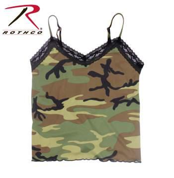 camisole, camo camisole, tank top, camo tank top, womens camo tank top, camouflage tank top, camouflage camisole, lace tank top