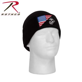 rothco deluxe fine knit watch cap, knit watch cap, watch cap, beanie, usmc, us marine corps, us marine corps hat, winter cap, cold weather hats, usmc logo, united states marine corps, usmc beanie, usmc watch cap, usmc embroidered beanie, knit beanie, knit watch cap,
