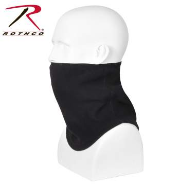 polar fleece, fleece, neck gaiter, neck gator, cold weather gear, polar fleece neck gaiter, elastic neck gaiter, contoured neck gaiter,
