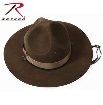 Rothco Military Campaign Hat, army campaign hat, us army campaign hat, campaign hat, smokey hat, drill sergeant campaign hat, drill sergeant hat, sergeant hat, military hat, the walking dead, rick grimes, rick grimes costume,