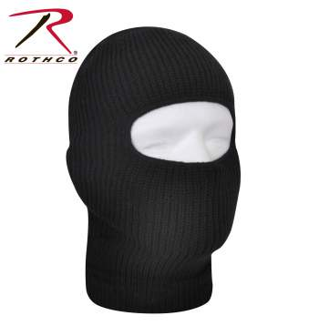 Rothco Fine Knit One Hole Facemask, one hole face mask, one hole facemask, balaclava, one hole balaclava, winter gear, face mask, facemask, cold weather face mask, cold weather gear, cold weather one hole facemask, face mask for winter, winter facemask, winter face mask