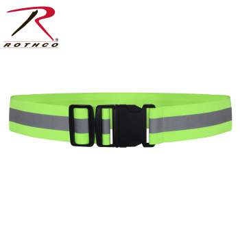 Rothco Reflective Elastic PT Physical Training Belt, physical training, pt, physical fitness, physical trainer, reflective belts, reflective belt army, military reflective belt, reflector belt, army reflective belt, army pt reflective belt, pt belt, military pt belt, army pt belt, reflective running belt, running belt, reflective fabric, reflective safety belt, belt, military belt, APFU, lifting belt, weight belt, weight training belt, workout weight belt, glow belt, yellow reflective belt, army reflective belt, army pt belt, military glow belt