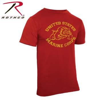 Rothco,t shirt print,tee shirt,short sleeve t shirt,short sleeve tee,tee shirts,t shirt,t-shirt,cotton tee,cotton tshirt,cotton t-shirt,poly tee,cotton poly t shirt,polyester cotton,U.S. Marine Bulldog tshirt,U.S. Marine Bulldog t-shirt,U.S. Marine Bulldog short sleeve,vintage tees,red tee,red tshirt,red t-shirt,us marines bulldog,vintage,vintage tshirts,vintage t-shirts,vintage tee,usmc tshirt,marines tshirt,marines t-shirt,graphic tee