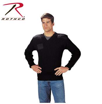 Rothco,V-Neck Sweater,vneck sweater,sweater,cardigan,pullover sweater,sweater cardigan,men sweater,wool sweater,black,wool,Government Type Wool,Navy Blue,navy blue wool,wool v neck,wool military,navy sweaters,military wear,military sweater,outerwear, military sweater, mens military sweater, wool sweater, commando sweater, army sweater, tactical sweater