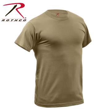 Beta rothco quick dry moisture wickng t shirt for Sweat wicking t shirts