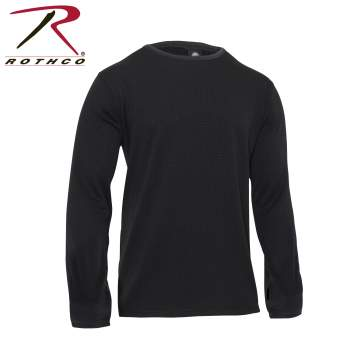 Gen III Level II Underwear Crew Top, Extended Cold Weather Clothing System, ECWCS, thermal undershirt, winter undershirt, base layer, grid fleece, long sleeve thermal, long sleeve shirt, thermal underwear,