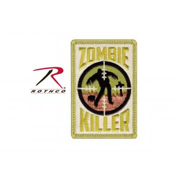 zombie killer, zombie, patches, zombie patch, airsoft patches, hook & loop patches, air soft patches, airsoft, air soft, air-soft, morale patches, morale airsoft patches, rothco airsoft patches, tactical patches, patches, velcro patches, tactical morale patches,