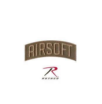 Rothco Airsoft Shoulder Patch, Hook Backing, hook and loop, airsoft shoulder patch, patch, patches, morale patch, wholesale airsoft patches, tactical patches, military morale patches, funny morale patches, moral patch, military velcro patches, tactical airsoft morale patches, airsoft morale patches, airsoft patches, morale patch