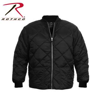 Diamond Quilted Flight Jackets,flight jackets,quilted jackets,bomber jacket,mens quilted jackets,military jackets,military flight jackets,nylon jacket,cold weather jacket,mens outerwear,military outerwear,Black Jacket,flyers jacket, mens quilted jacket, quilted jacket, puffer jacket