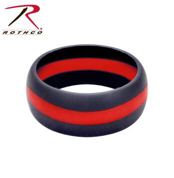 thin red line, thin red line firefighter, red thin line, firefighter, fire department, thin red line wedding ring, thin red line wedding band, thin red line ring, thin red line jewelry, firefighter wedding band, silicone wedding band, silicone wedding ring, rubber wedding bands, rubber wedding rings, mens silicone rings, mens rubber wedding bands, workout wedding rings, flexible wedding ring, work wedding rings, mens rings