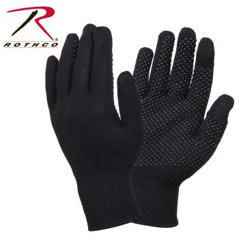 Rothco Touch Screen Gloves With Gripper Dots, Rothco Touch Screen Gloves, touch screen gloves, touchscreen gloves, gloves for touch screen, gloves for cell phone use, cell phone gloves, best touchscreen gloves, cell phone, gloves, glove, touch screen, mobile phone, rothco, tech gloaves