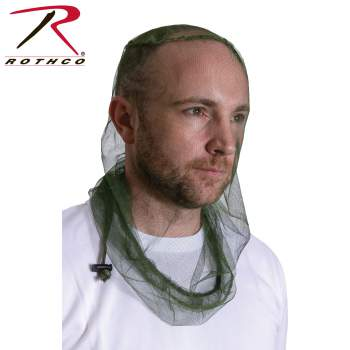 Rothco deluxe long length mosquito head net, long length mosquito head net, deluxe mosquito head net, deluxe head net, deluxe mesh head net, mesh head net, bug head net, head net,net,mosquito net,jungle netting for helmet,mosquito net for helmet,mosquito netting,bug netting,head bug net, military netting, military mosquito netting, insect protection, bug protection, bug defense, mosquito defense,