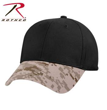 rothco two-tone low profile cap, two-tone low profile cap, two tone low profile cap, low profile cap, two tone cap, two tone hat, two tone low profile hat, two tone baseball cap, 2 tone cap, two tone camo cap, two tone camo hat, camo cap