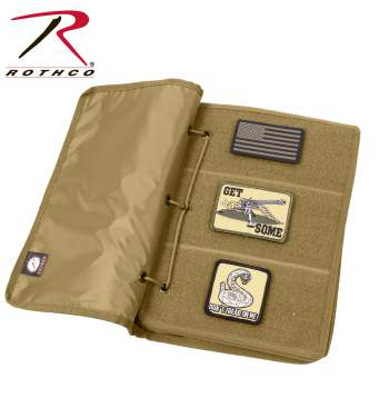 Rothco hook and loop patch book, Rothco hook & loop patch book, hook and loop patch book, hook & loop patch book, hook and loop, Velcro patch book, Velcro patch books, Velcro, hook & loop, hook and loop closure, hook & loop closure, patch book, patch books, patches