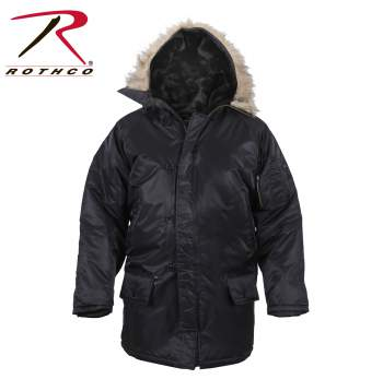 Rothco N-3B Snorkel Parka, N-3B Jacket,Parka,Military Parka,Nylon Parka,extreme cold weather coat,army cold weather coat,military coat,sage parka,ECWCS Parka,Snorkel Parka,black parka,blue parka, mens military parka, parka, parka jacket, army parka, military jacket, cold weather jacket