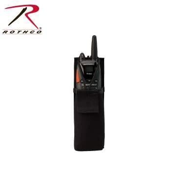 police gear,duty gear,tactical gear,pouch,radio pouch,polyester pouch,snap close pouch,radio holder,communication holder,communication pouch