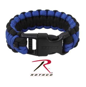 Thin blue line, thin blue line, paracord bracelet, think blue line paracord bracelet, para cord, para-cord, 550 parachute cord, paracord bracelets, 550 paracord, paracord 550, police paracord, police bracelet
