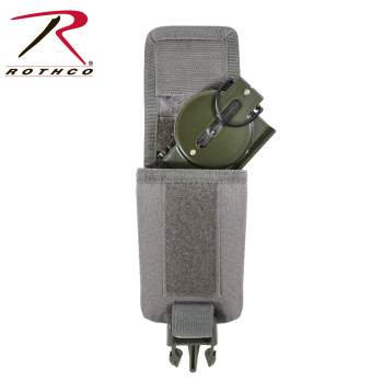 Rothco MOLLE Foilage Strobe-GPS-Compass Pouch, molle, rothco, molle pouch, gps, compass pouch, strobe pouch, rothco pouch