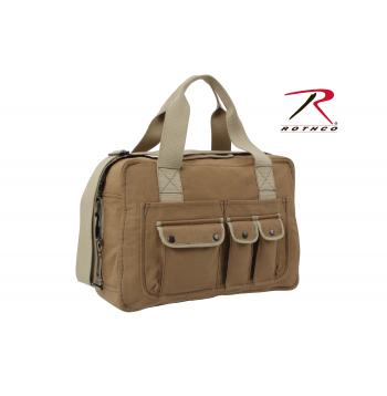 Rothco Two Tone Specialist Carry All Shoulder Bag, Rothco shoulder bag, Rothco two tone shoulder bag, two tone specialist carry all shoulder bag, shoulder bag, shoulder bags, duffle bag, bag, bags, Rothco bags, shoulder bags for school, two tone bags, mens shoulder bags, shoulder bags for women, gym bags, gym shoulder bag, gym duffle bag, travel bag, womens duffle bag,  duffle bags for men, shoulder bags for men, sports duffle bag, sports bag, small duffle bag, mens duffle bags, military shoulder bag, messenger bag, canvas messenger bag, canvas shoulder bag, two tone canvas bag, two tone messenger bag, canvas bag, mocha, coyote, tool bag, canvas tool bag, canvas shoulder tool bag,