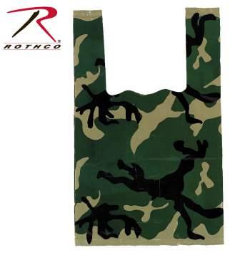 camo shopping bag, shopping bag, shopping bags, camouflage bags, camo bags, camouflage shopping bags, gift bags, plastic bags, plastic store bags,