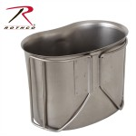 Rothco GI Style Stainless Steel Canteen Cup, Steel Canteen Cup, Canteen Cup, Metal Canteen Cup, Military Canteen Cup, GI Stainless Steel Canteen Cup, Army Canteen Cup, GI Canteen Cup, Stainless Steel Canteen Cup, canteen container, stainless steel cup