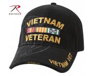 Rothco Deluxe Military Low Profile Shadow Caps Vietnam Veteran, rothco, shadow caps, low profile cap, military cap, vietnam veteran, vietnam veteran cap, deluxe low profile cap, headwear